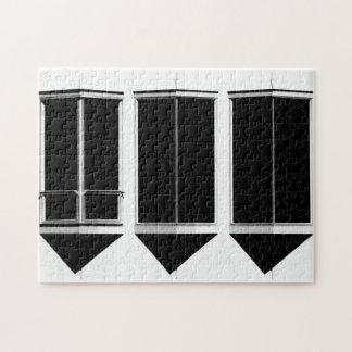 Three Windows Jigsaw Puzzle
