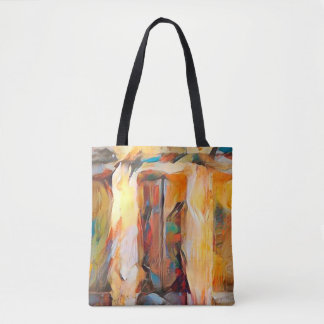 Three Windows of Emotion, abstract expression Tote Bag