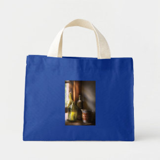 Three wine bottles canvas bag