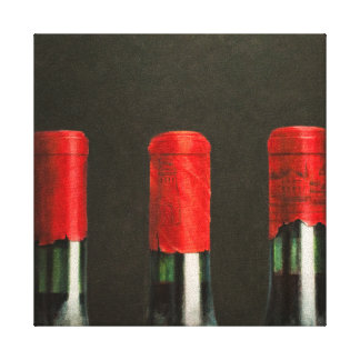 Three Wines 2010 Canvas Print