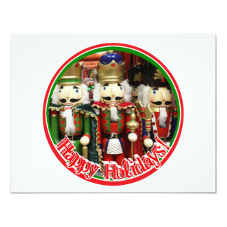 Three Wise Crackers - Nutcracker Soldiers Personalized Announcement