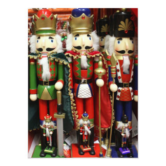 Three Wise Crackers - Nutcracker Soldiers Invitation