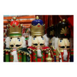 Three Wise Crackers - Nutcracker Soldiers Poster
