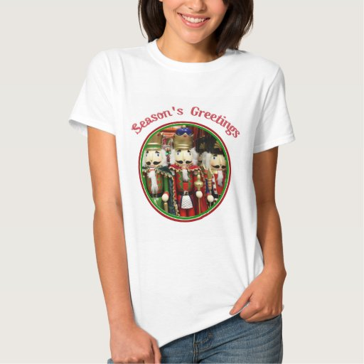 Three Wise Crackers - Nutcracker Soldiers Tee Shirts