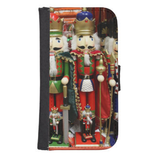 Three Wise Crackers Samsung S4 Wallet Case