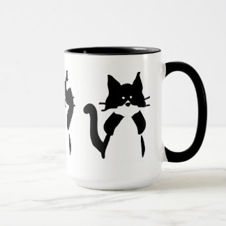 Three Wise Kitties Mug
