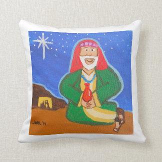 Three Wise Men - Balthasar Square Pillow Throw Cushions