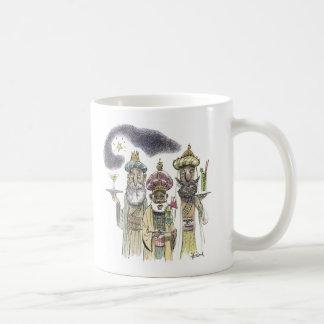 Three Wise Men Basic White Mug