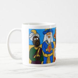 Three Wise Men by Joel Anderson Basic White Mug
