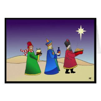 Three Wise Men Christmas Card
