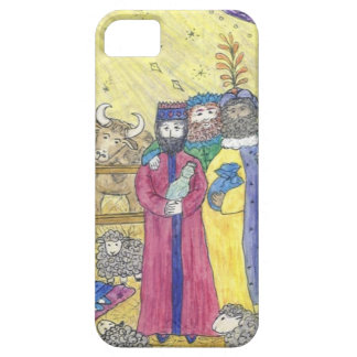 Three wise men in a manger iphone case iPhone 5 cover