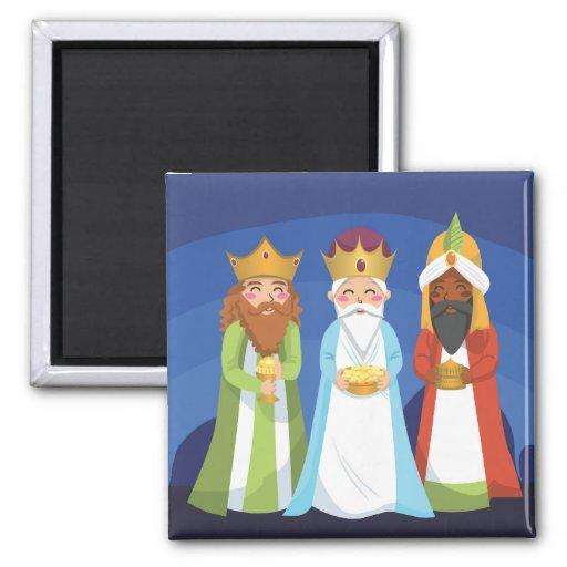 Three Wise Men Refrigerator Magnet