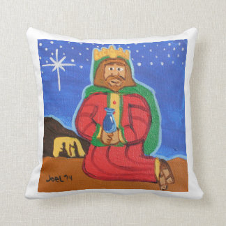 Three Wise Men - Melchior Square pillow Throw Cushions