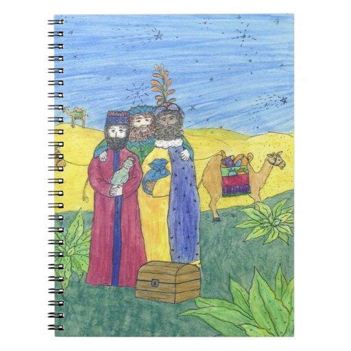 Three wise men note books