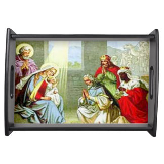 Three Wise Men Serving Tray