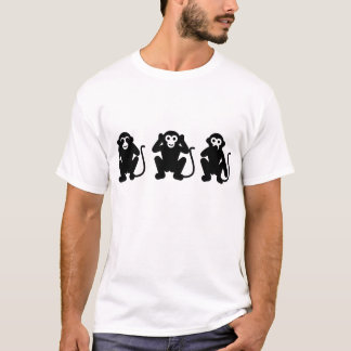 Three Wise Monkey T-Shirt