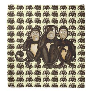 Three Wise Monkeys Bandana