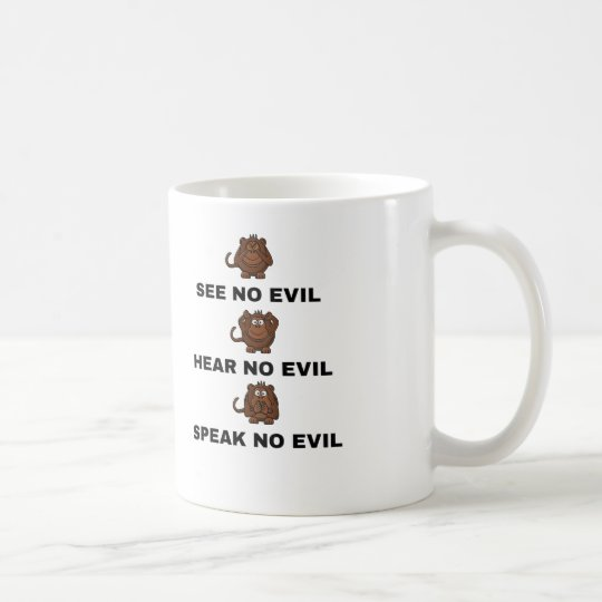 Three Wise Monkeys Cups / Mugs