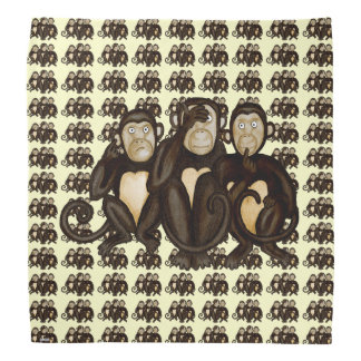 Three Wise Monkeys Do-rags