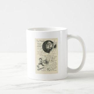 three wise old owls basic white mug