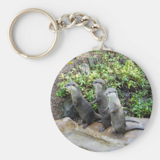 Three Wise Standing Otters, Key Ring