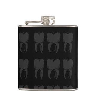 Three Wise Teeth Dentist Flask