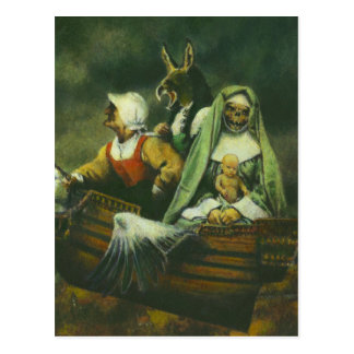 Three Witches Postcard