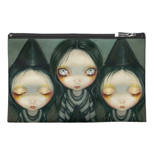 """""""Three Witchy Sisters"""" Bag Travel Accessory Bag"""