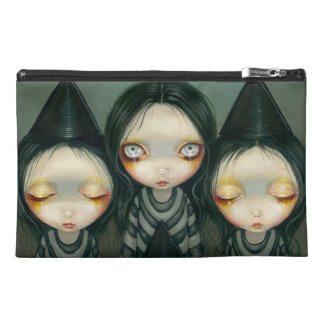 Three Witchy Sisters Bag Travel Accessory Bag
