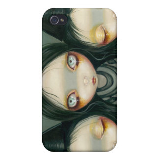 """Three Witchy Sisters"" iPhone 4 Case"