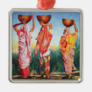 Three Women 1993 Christmas Ornament