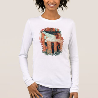 Three Women and Three Wolves (w/c) Long Sleeve T-Shirt