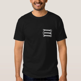Three Wrenches in Light Gray. Tee Shirts