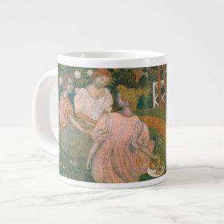 Three Young Princesses, 1898 Large Coffee Mug