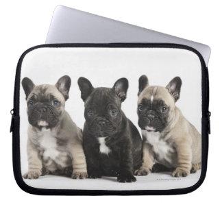 Threee Pedigree Puppies Laptop Sleeve