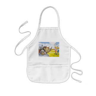 Threesome anyone kids apron