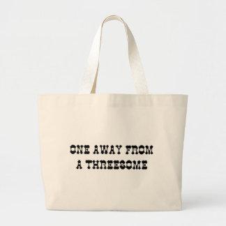 THREESOME JUMBO TOTE BAG