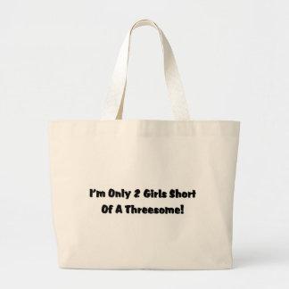 Threesome! Jumbo Tote Bag