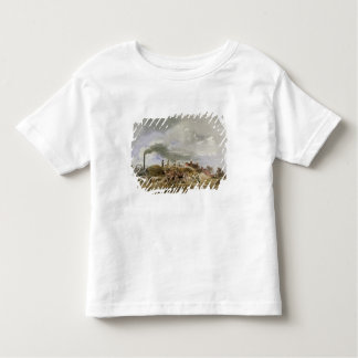 Threshing Corn (pencil & w/c on paper) Toddler T-Shirt