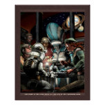 """Thrilling Tales: Late Night at the Diner  (22x28"""") Poster"""
