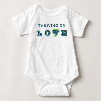 Thriving on LOVE Fed is Best Baby Bodysuit