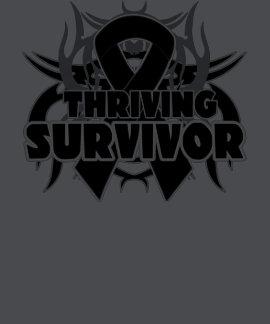 Thriving Skin Cancer Survivor Tee Shirts