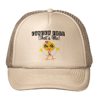 Throat Cancer - Cancer Free That's Me Mesh Hats