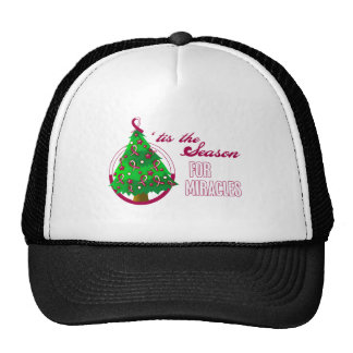 Throat Cancer Christmas Miracles Cap