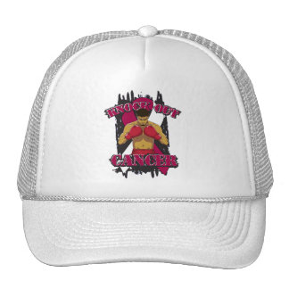 Throat Cancer Knock Out Cancer Cap