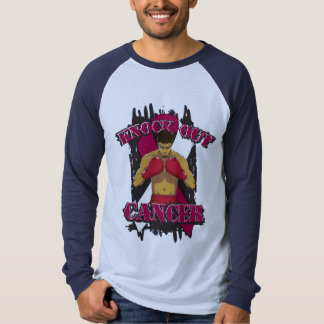 Throat Cancer Knock Out Cancer Tee Shirts