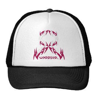 Throat Cancer Mens Warrior Tribal Trucker Hat