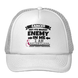 Throat Cancer Met Its Worst Enemy in Me Cap