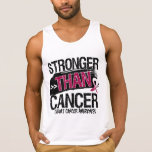 Throat Cancer - Stronger Than Cancer Tee Shirts