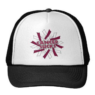 Throat Cancer Sucks Hats